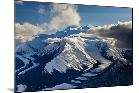 Muldrow Glacier in the Alaska Range-Ralph Lee Hopkins-Mounted Photographic Print