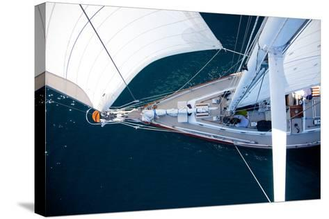 A Sailboat from the Tip of the Mast-Ben Horton-Stretched Canvas Print