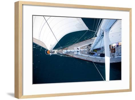 A Sailboat from the Tip of the Mast-Ben Horton-Framed Art Print