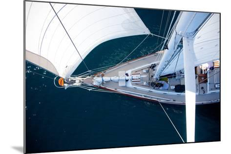 A Sailboat from the Tip of the Mast-Ben Horton-Mounted Photographic Print