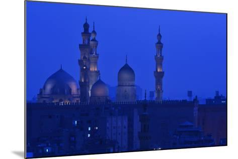 Minarets of Sultan Hassan and Rifai Mosques in Old Cairo-Kenneth Garrett-Mounted Photographic Print