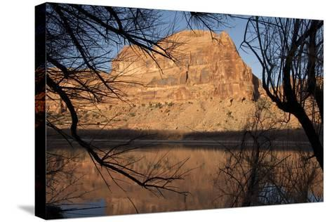 Early Morning Light Along the Colorado River Near Moab, Utah-Scott S^ Warren-Stretched Canvas Print