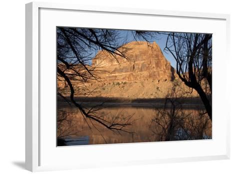 Early Morning Light Along the Colorado River Near Moab, Utah-Scott S^ Warren-Framed Art Print