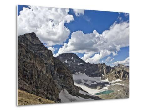 Peaks and Frozen Lakes in the High Country of Indian Peaks Wilderness, Colorado-Andrew R. Slaton-Metal Print
