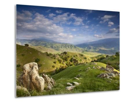 Rolling Green Hills of Central California No.4-Ian Shive-Metal Print