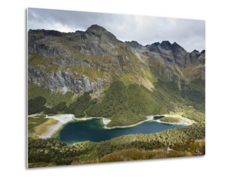 The Routeburn Trak in Mount Aspiring National Park Located in Ne-Sergio Ballivian-Metal Print