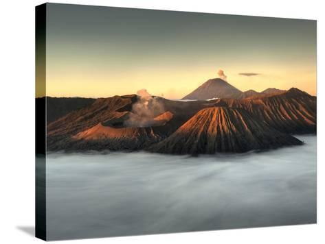 Bromo-Tengger-Semeru National Park on the Island of Java in Indonesia-Kyle Hammons-Stretched Canvas Print