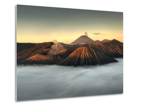 Bromo-Tengger-Semeru National Park on the Island of Java in Indonesia-Kyle Hammons-Metal Print