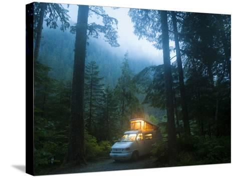 Mineral Park Campground, Mount Baker-Snoqualmie National Forest, Washington-Ethan Welty-Stretched Canvas Print
