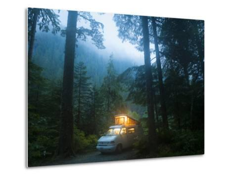 Mineral Park Campground, Mount Baker-Snoqualmie National Forest, Washington-Ethan Welty-Metal Print
