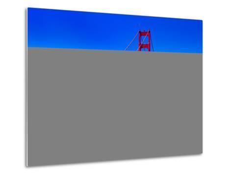 Landscape - Golden Gate Bridge - San Francisco - California - United States-Philippe Hugonnard-Metal Print
