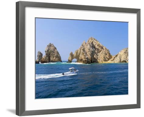 El Arco, the Arch, Cabo San Lucas, Baja, Mexico-Douglas Peebles-Framed Art Print