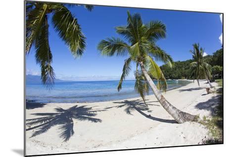 Beach, Waitatavi Bay, Vanua Levu, Fiji-Douglas Peebles-Mounted Photographic Print