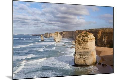 Coastline, 12 Apostles, Great Ocean Road, Port Campbell Np, Victoria, Australia-Martin Zwick-Mounted Photographic Print