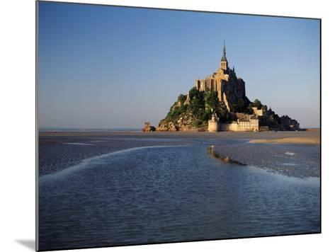 View of Mont Saint-Michel, Normandy, France-David Barnes-Mounted Photographic Print