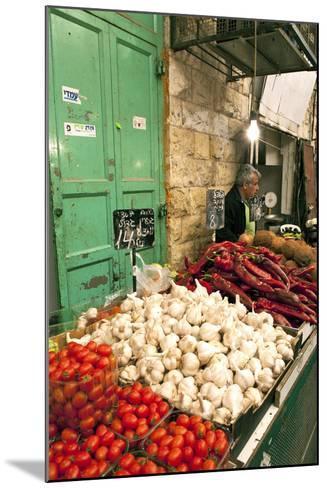 Machne Yehuda Market, Jerusalem, Israel-David Noyes-Mounted Photographic Print