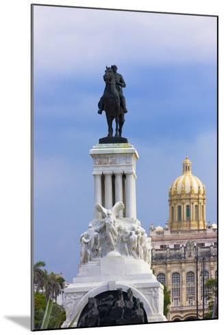 Monument to Antonio Maceo, Capitol Building, Havana, Cuba-Keren Su-Mounted Photographic Print