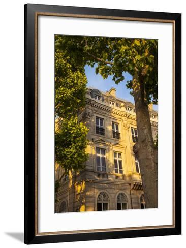 Architecture at Place Charles De Gaulle Along Champs Elysees, Paris, France-Brian Jannsen-Framed Art Print