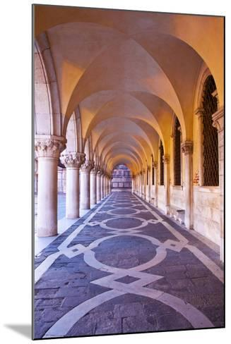 Arch at San Marcos Square at Night, Venice, Italy-Terry Eggers-Mounted Photographic Print
