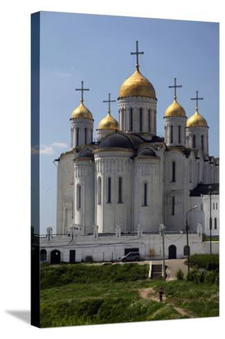 Cathedral of the Dormition of the Theotokos, Vladimir, Russia-Kymri Wilt-Stretched Canvas Print
