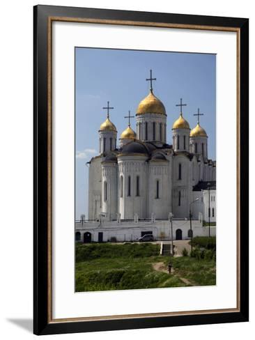Cathedral of the Dormition of the Theotokos, Vladimir, Russia-Kymri Wilt-Framed Art Print