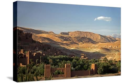 View from Ait Ben Haddou, UNESCO World Heritage Site, Ourzazate, Morocco, Africa-Kymri Wilt-Stretched Canvas Print