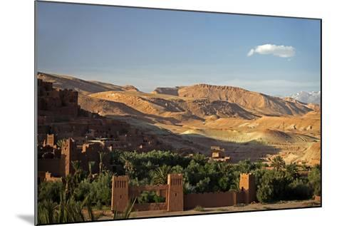 View from Ait Ben Haddou, UNESCO World Heritage Site, Ourzazate, Morocco, Africa-Kymri Wilt-Mounted Photographic Print