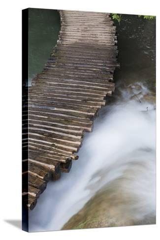 Typical Plank Path, Plitvice Lakes, Plitvicka Jezera, Croatia-Martin Zwick-Stretched Canvas Print