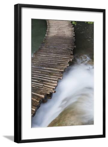 Typical Plank Path, Plitvice Lakes, Plitvicka Jezera, Croatia-Martin Zwick-Framed Art Print