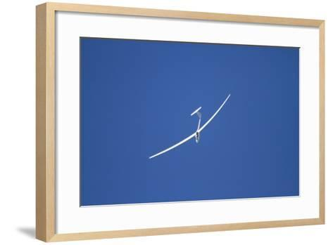 Glider, Warbirds over Wanaka, Wanaka, War Plane, Otago, South Island, New Zealand-David Wall-Framed Art Print