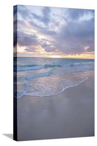 Sunrise, Bavaro Beach, Higuey, Punta Cana, Dominican Republic-Lisa S^ Engelbrecht-Stretched Canvas Print