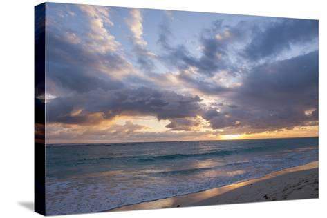 Sunrise, Bavaro Beach, Higuey, Punta Cana, Dominican Republic-Lisa S^ Engelbrecht-Stretched Canvas Print