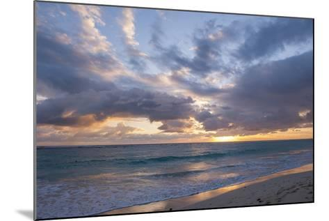 Sunrise, Bavaro Beach, Higuey, Punta Cana, Dominican Republic-Lisa S^ Engelbrecht-Mounted Photographic Print