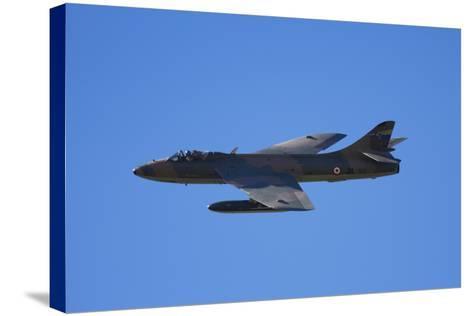 Hawker Hunter Jet Fighter, War Plane-David Wall-Stretched Canvas Print