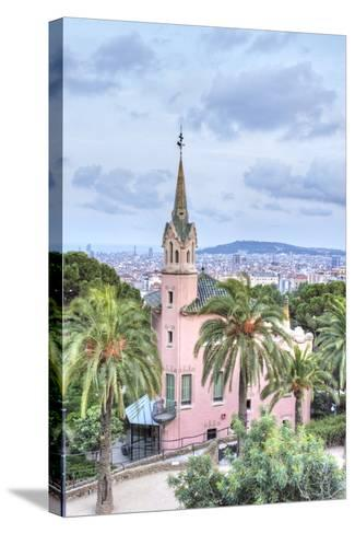 Gaudi House Museum, Park Guell, Barcelona, Spain-Rob Tilley-Stretched Canvas Print
