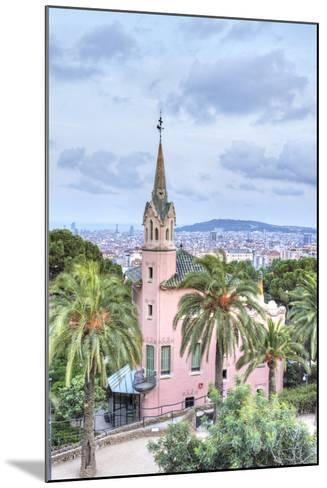 Gaudi House Museum, Park Guell, Barcelona, Spain-Rob Tilley-Mounted Photographic Print