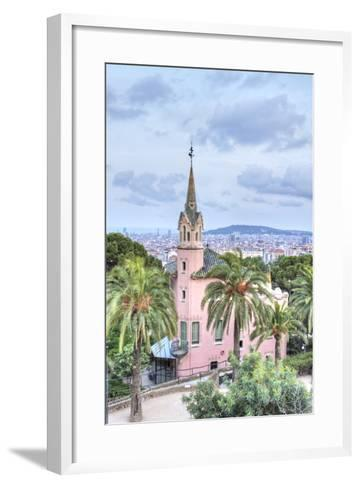 Gaudi House Museum, Park Guell, Barcelona, Spain-Rob Tilley-Framed Art Print