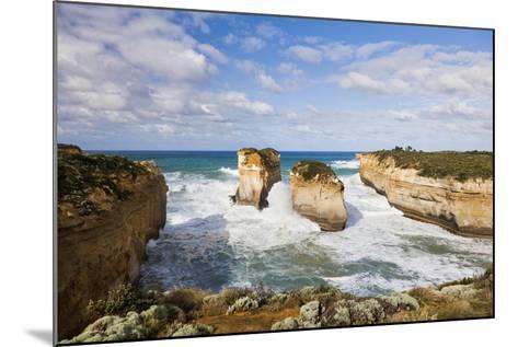 Coastline, Loch Ard Gorge, Elephant Rock, Muttonbird Is, Great Ocean Road, Australia-Martin Zwick-Mounted Photographic Print