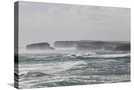 Bay of Martyrs, Bay of Islands, Great Ocean Road, Australia-Martin Zwick-Stretched Canvas Print