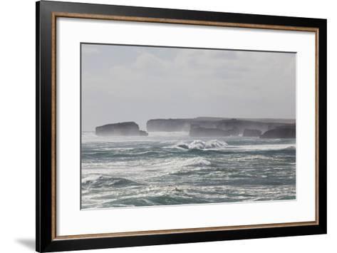 Bay of Martyrs, Bay of Islands, Great Ocean Road, Australia-Martin Zwick-Framed Art Print