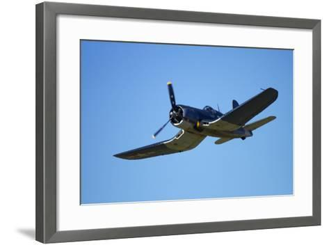 Goodyear Corsair FG-1D 'Whispering Death' Fighter Bomber-David Wall-Framed Art Print