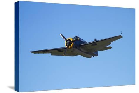 Grumman Avenger, Warbirds over Wanaka, War Plane, New Zealand-David Wall-Stretched Canvas Print