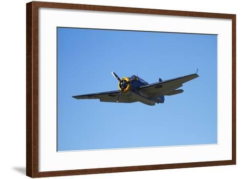 Grumman Avenger, Warbirds over Wanaka, War Plane, New Zealand-David Wall-Framed Art Print