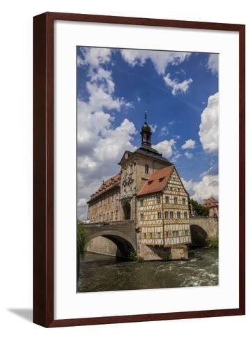 Old Town Hall, Altes Rathaus, Bamberg, Germany-Jim Engelbrecht-Framed Art Print
