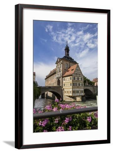 Old Town Hall, Altes Rathaus, Bamberg, Germany-Jim Engelbrecht-Framed Art Print