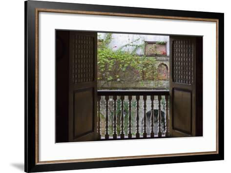 Spanish Styled Manila House, Manila, Philippines-Keren Su-Framed Art Print