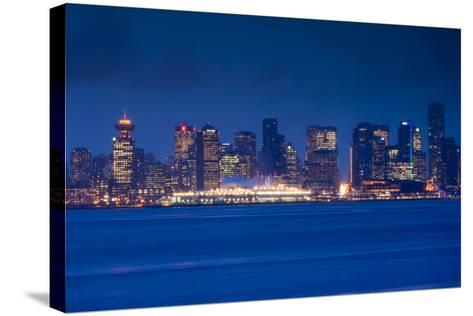 City View Form North Vancouver, British Columbia, Canada-Walter Bibikow-Stretched Canvas Print