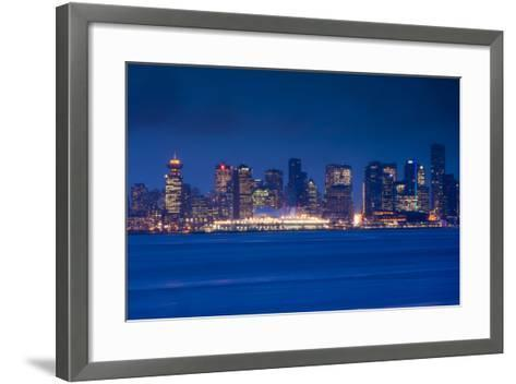 City View Form North Vancouver, British Columbia, Canada-Walter Bibikow-Framed Art Print