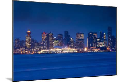 City View Form North Vancouver, British Columbia, Canada-Walter Bibikow-Mounted Photographic Print