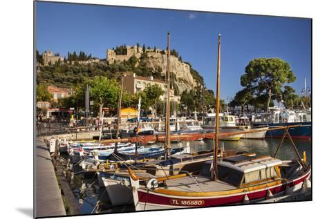 Sailboats in the Harbor of Cassis, Bouches-Du-Rhone, Provence, France-Brian Jannsen-Mounted Photographic Print